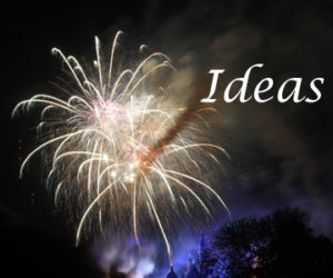 #How do you come up with ideas?